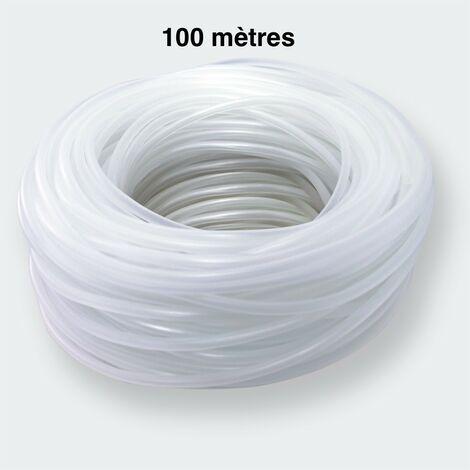100 Mètres De Tuyau, 4/6 mm, Pour Pompe à Air Aquarium Et Bassin