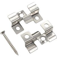 100 pcs Decking Clips with 200 Screws Stainless Steel