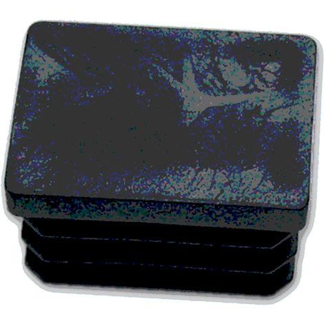 100 Pezzi Gommino Interno Rettangolare 20X40Mm (Puntale)