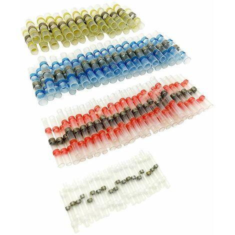 """main image of """"100 pièces connecteur à souder connecteur rétractable connecteur bout à bout connecteur à sertir connecteur de câble"""""""