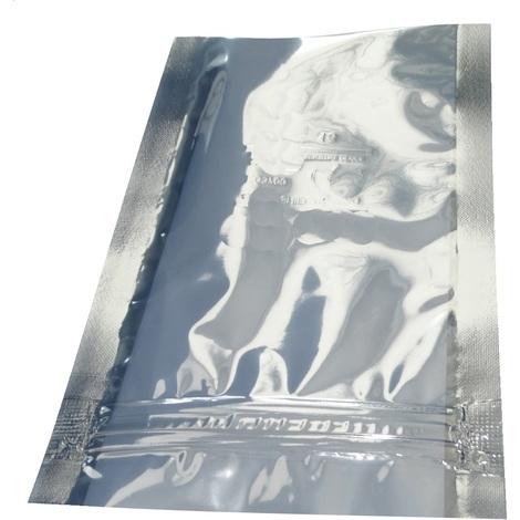 100 sachets zip antistatiques 76/127mm 76µm