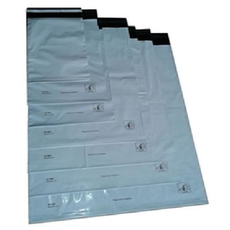 100 x Versandtüte, Versandtasche, Versandbeutel selbstklebend, Plastik 550 x 770 x 60 mm