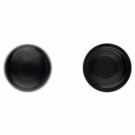 1000 bouchons en pvc Noir pour vis DIN-7504-N et DIN-7981 D. 5,5 mm - TPCR055NE - Index - -