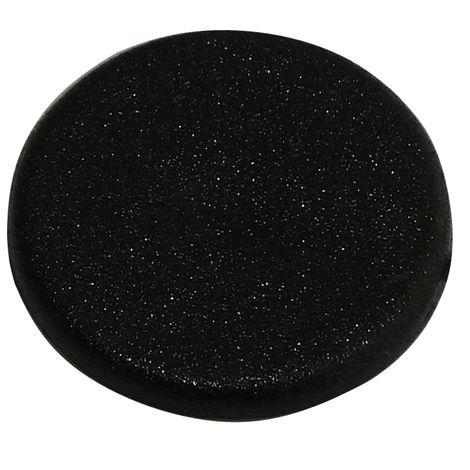 1000 cache en plastique noir pour goujon ferrure raccord d'assemblage rastex panneau meuble