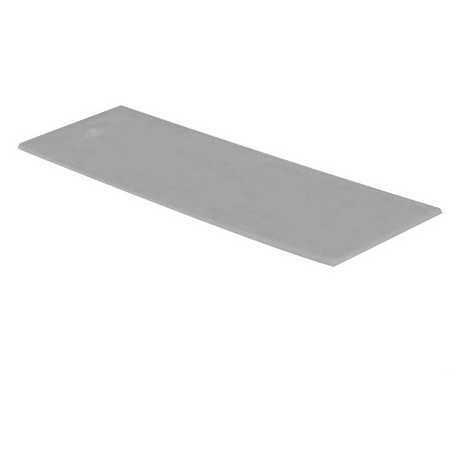 1000 cales plates Grise 3 x 22 x 50 mm - Harpun - 10477