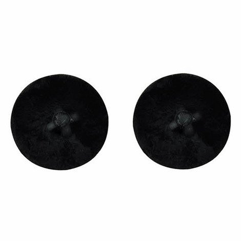 1000 capuchons noir D. 13 mm en nylon pour vis PVC-70 - P70TPNG - Index - -