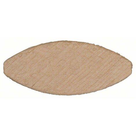1000 Cheville plates type Lamello en bois BOSCH - Cond. /pcs: 1000 - Dim mm: 60 x 23 x 4