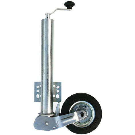 1000lb 453kg Jockey Solid Rubber Wheel Automatic