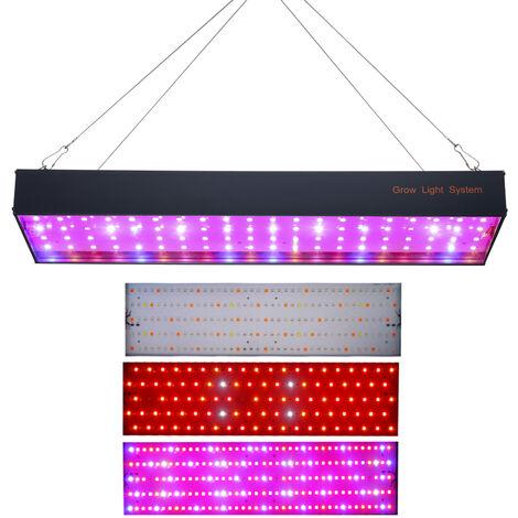 1000W LED crece la luz, para planta de interior de invernadero hidroponico