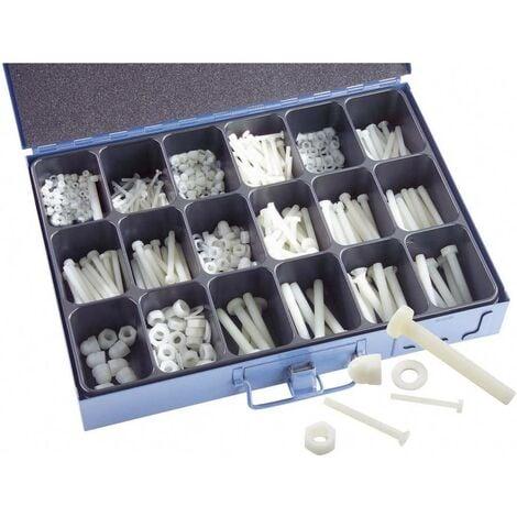1005 pièces Assortiment de vis en polyamide