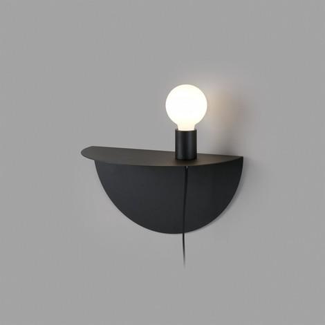 NIT Applique da parete alluminio nero camera da letto FARO 01006 -