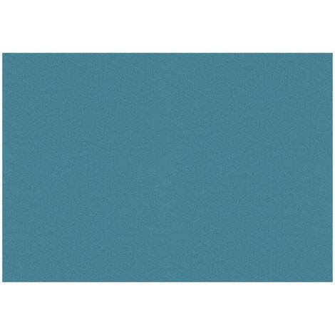 10066-08 Vinyl Expansé sur Intissé Uni Bleu Canard
