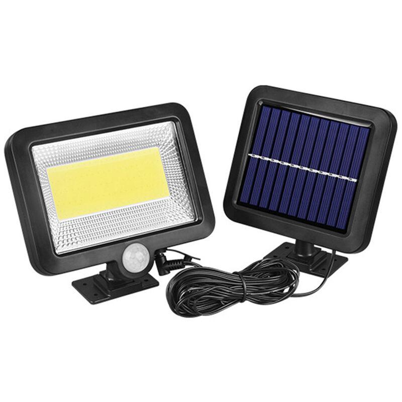 Image of 100COB Solar Energy Wall Mounted Night Lamp Motion Light Sensor Outdoor Waterproof Garden Security Light - ASUPERMALL