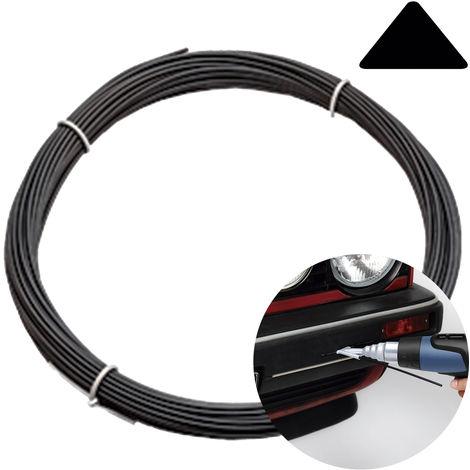 """main image of """"100GR PP POLIPROPILENO soldadura triangular negro para soldar plástico paragolpes coche - PROFESIONAL"""""""