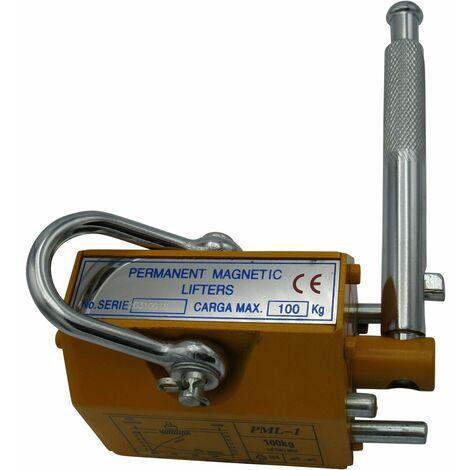 "main image of ""100KGS Lifting Magnet - Magnetic Lifter / Permanent / Handling / Hoist"""