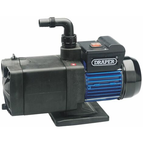 Draper 100l//Min Max 1000w 230v Multistage Surface Mounted Pump 56227