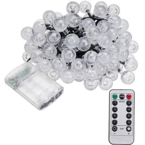 100LED 12M String Ball Lights Outdoor Garden Party Wedding Decor