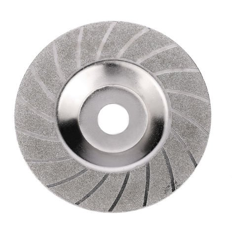 "100mm 4"" Inch Diamond Coated Grinding Polishing Grind Disc Saw Bit 16mm Inner Diameter Rotary Wheel Grit For Angle Grinder"