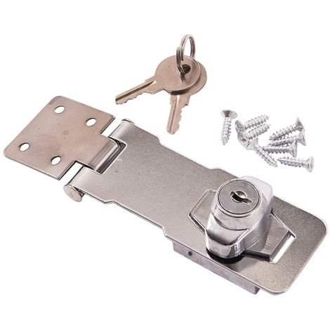 "100mm (4"") SELF LOCKING HASP"