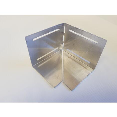 100mm Edging Bar Corner Connector