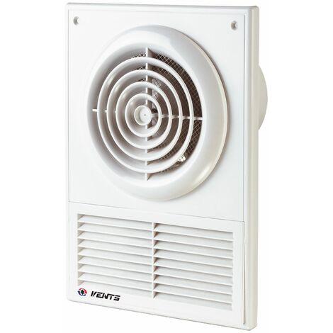 100mm Extractor Fan with Ventilation Grille Bathroom Ventilator Air Exhaust