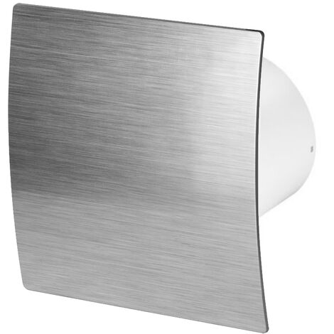 100mm Humidité Detecteur Hotte Ventilateur Argent ABS Panneau Avant Escudo Mur Plafond Ventilation