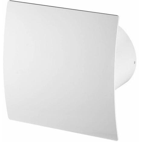 100mm Humidité Detecteur Hotte Ventilateur Blanc ABS Panneau Avant Escudo Mur Plafond Ventilation