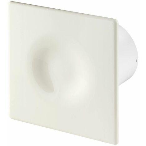 100mm Humidité Detecteur Hotte Ventilateur Ecru ABS Panneau Avant ORION Mur Plafond Ventilation