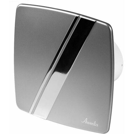 100mm Humidité Detecteur Hotte Ventilateur Satin ABS Panneau Avant LINEA Mur Plafond Ventilation