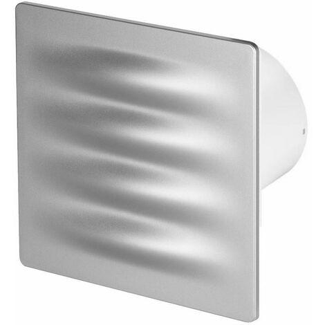 100mm Humidité Detecteur Hotte Ventilateur Satin ABS Panneau Avant VERTICO Mur Plafond Ventilation