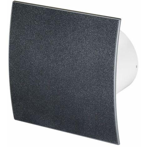 100mm Humidité Detecteur Hotte Ventilateur Structure en Graphite Panneau Avant Escudo Mur Plafond Ventilation