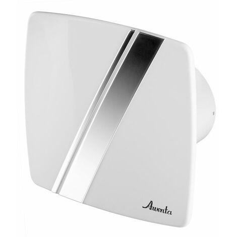 100mm Standard Hotte Ventilateur Blanc ABS Panneau Avant LINEA Mur Plafond Ventilation