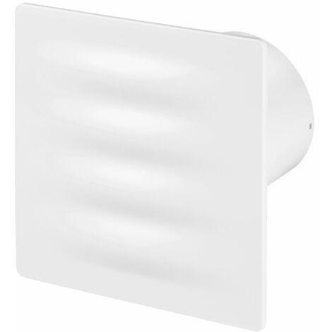 100mm Standard Hotte Ventilateur Blanc ABS Panneau Avant VERTICO Mur Plafond Ventilation