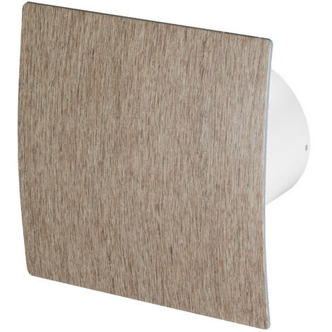 100mm Standard Hotte Ventilateur Bois De Chêne ABS Panneau Avant Escudo Mur Plafond Ventilation
