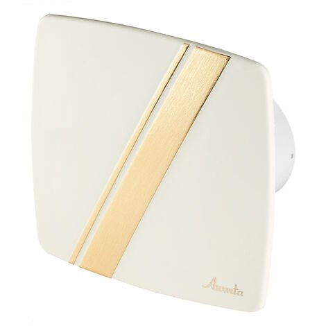 100mm Standard Hotte Ventilateur Ecru ABS Panneau Avant LINEA Mur Plafond Ventilation