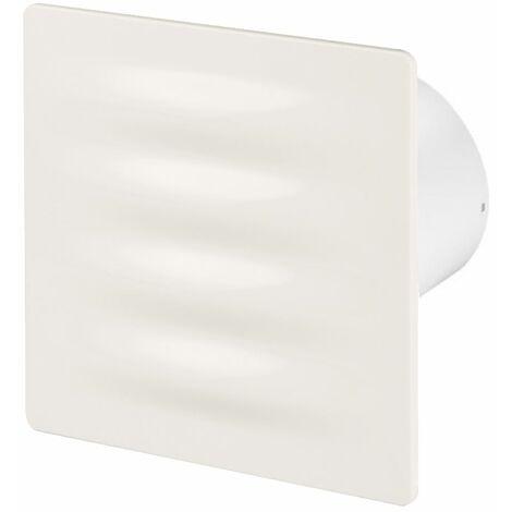100mm Standard Hotte Ventilateur Ecru ABS Panneau Avant VERTICO Mur Plafond Ventilation