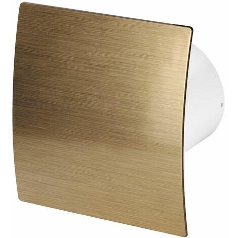 100mm Standard Hotte Ventilateur Or ABS Panneau Avant Escudo Mur Plafond Ventilation