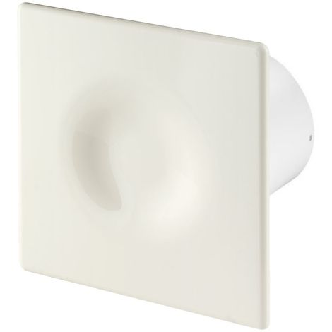 100mm Standard ORION Extractor Fan Ecru ABS Front Panel Wall Ceiling Ventilation