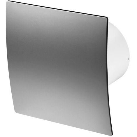 100mm Timer Extractor Fan Satin ABS Front Panel ESCUDO Wall Ceiling Ventilation