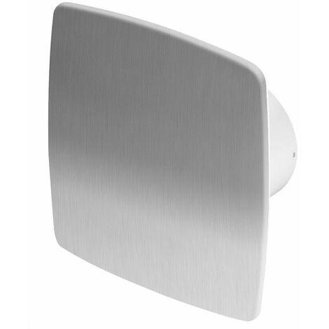 100mm Timer Hotte Ventilateur Inox Panneau Avant NEA Mur Plafond Ventilation