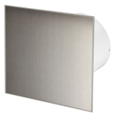 100mm Timer Hotte Ventilateur Inox Panneau Avant TRAX Mur Plafond Ventilation