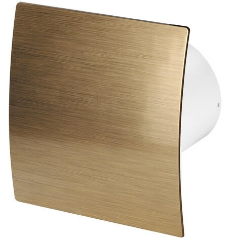 100mm Timer Hotte Ventilateur Or ABS Panneau Avant Escudo Mur Plafond Ventilation