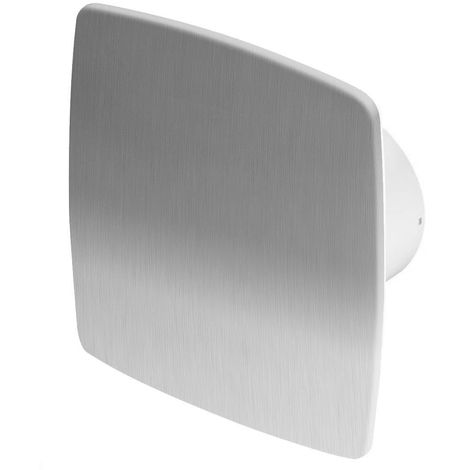 100mm Timer NEA Extractor Fan Inox Front Panel Wall Ceiling Ventilation