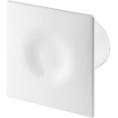 100mm Timer ORION Extractor Fan White ABS Front Panel Wall Ceiling Ventilation