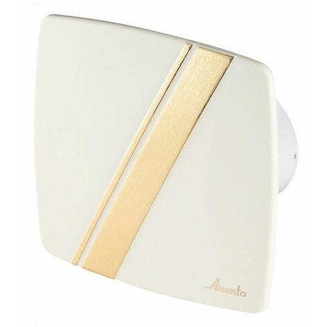 100mm Tirette Hotte Ventilateur Ecru ABS Panneau Avant LINEA Mur Plafond Ventilation