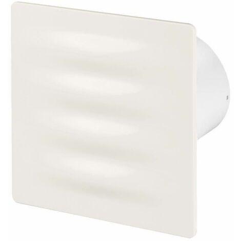 100mm Tirette Hotte Ventilateur Ecru ABS Panneau Avant VERTICO Mur Plafond Ventilation