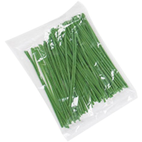 100PCS ajustables Plant Lazos, Planta flexibles de uniones de cable, Jardin Lazos