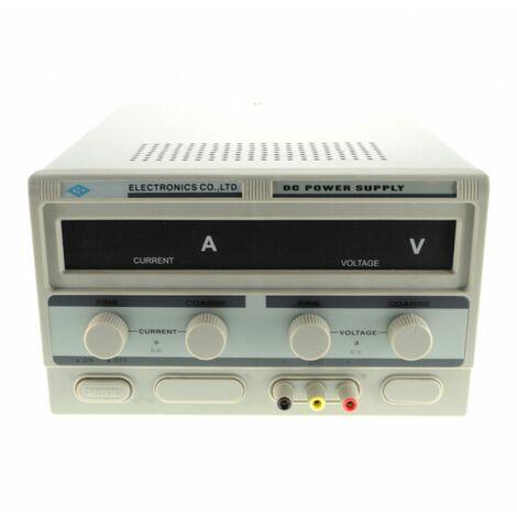 100V,5A Fuente Alimentacion regulable con display digital