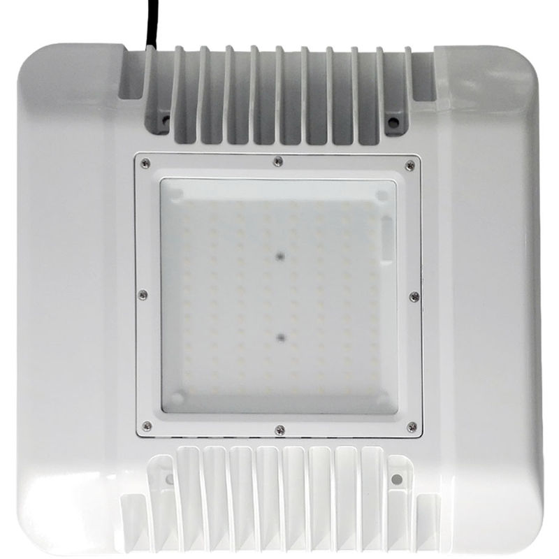 Image of 100W CANNOPY LIGHTS 5700K, Samsung 2835 120PCS led, SS 1-10V Dimmable driver, Frost Glass Cover, 120LM/W, 5 Years Warranty