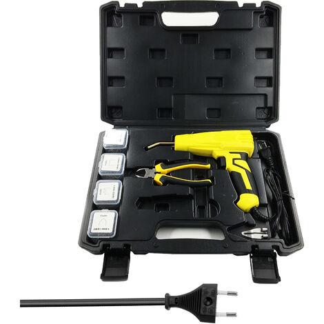 100W portatil maquina de soldadura de plasticos Grapadoras Maquina de soldadura de plasticos Herramientas repairings Herramientas y aparatos de soldar grapadora